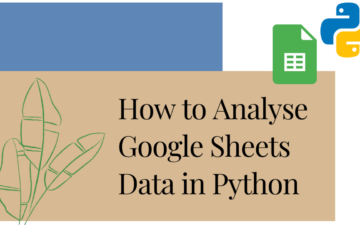 Post: analyse google sheets data in python featured